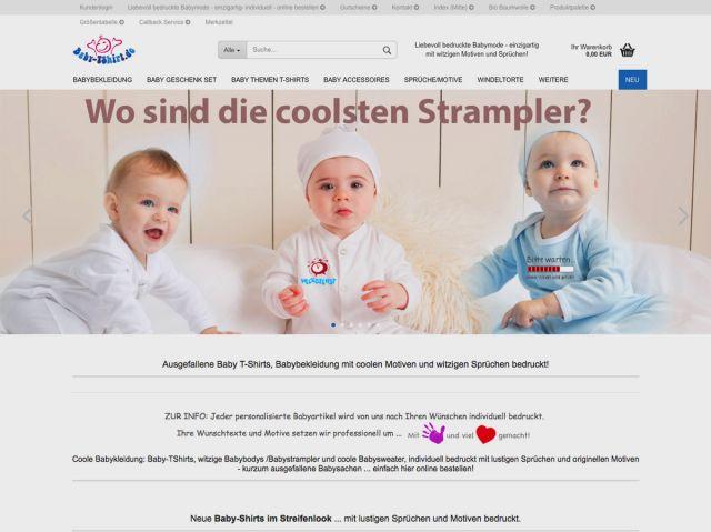 632f6c3b70c792 Internet Onlineshop Babyartikel - Gutsmiedl-Design   Werbung ...